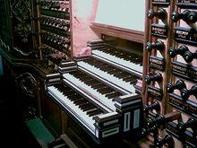管风琴演奏台