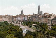 1900年 斯特拉斯堡kleber 广场