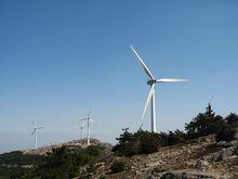 括苍山风力发电