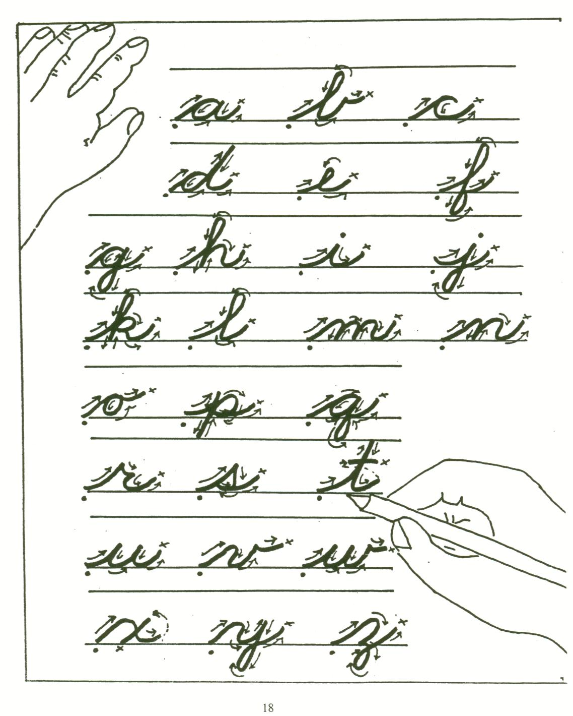 cursive writing is part of a While many school districts teach keyboard skills instead of cursive writing  5 reasons cursive writing should retaining a part of classic writing skills.